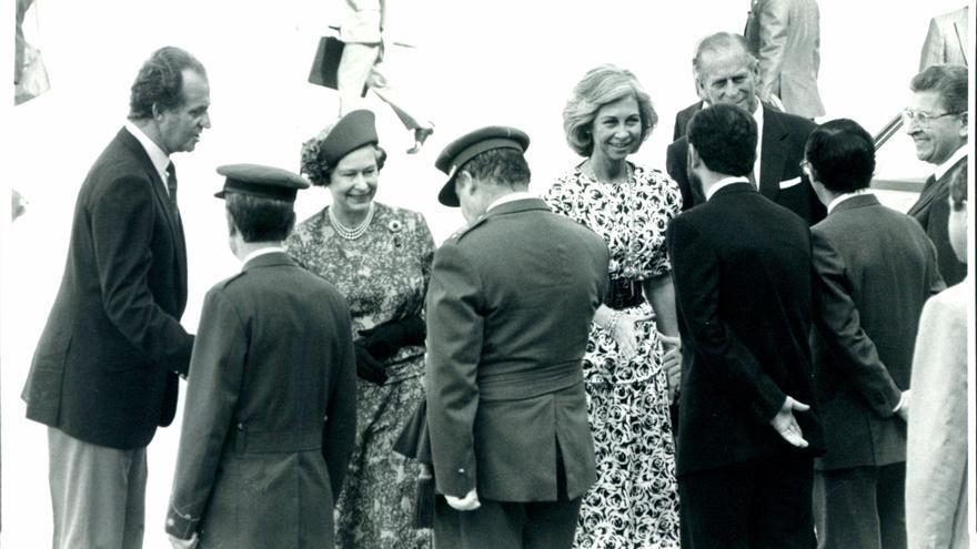 La visita del duque de Edimburgo a Mallorca: cuando el 'Britannia' atracó en el dique del Oeste