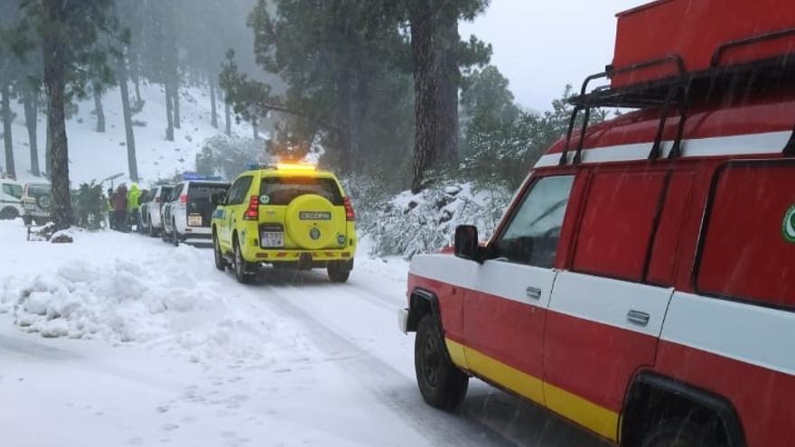 Buscan a un hombre desaparecido en la cumbre de La Palma