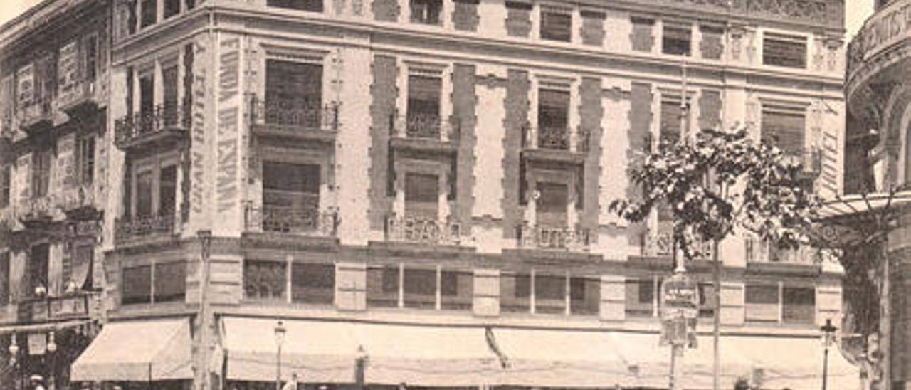 La 'pifia' urbanística del Gran Hotel España