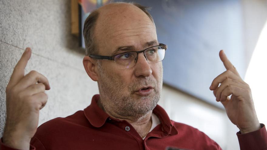 Nando Pons: «No me sorprende que el Mallorca esté tan abajo»