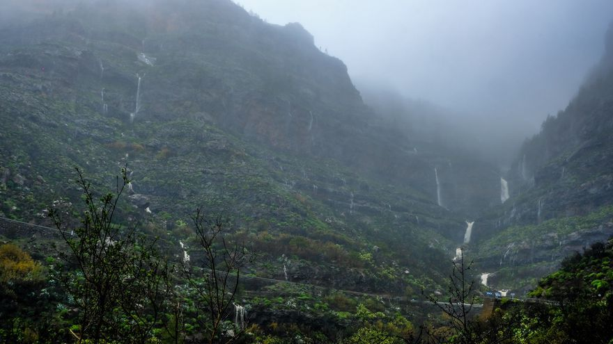 Intervalos nubosos y lluvias débiles para este martes en Canarias