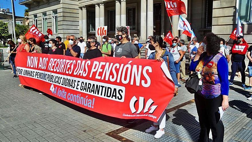 La CIG se moviliza contra la reforma de las pensiones