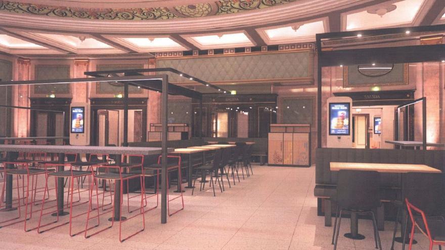 Zaragoza concede la licencia para abrir un McDonalds en el antiguo cine Elíseos