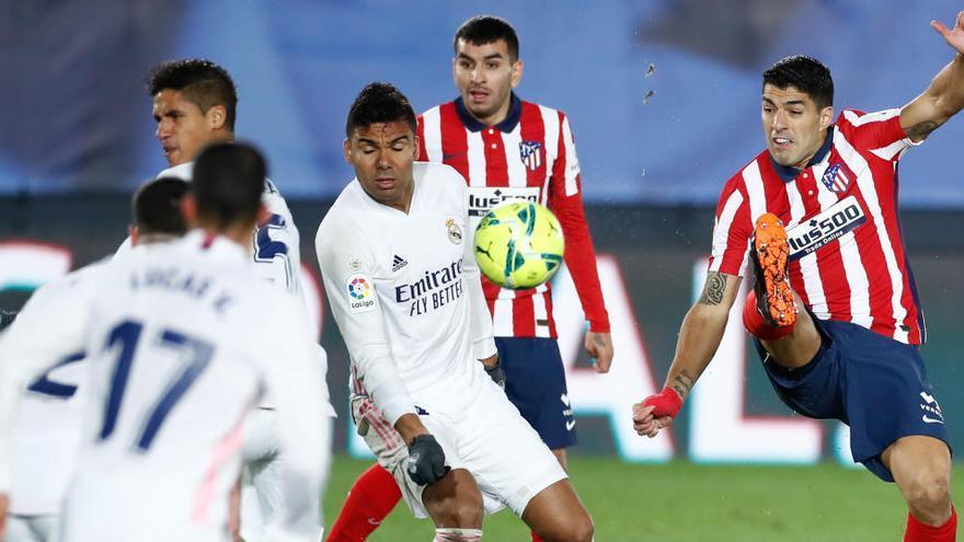 Atlético y Real Madrid miden sus fuerzas por LaLiga