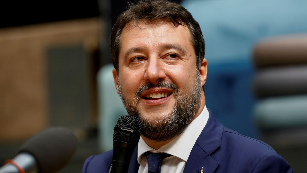 Foto de archivo de Matteo Salvini.