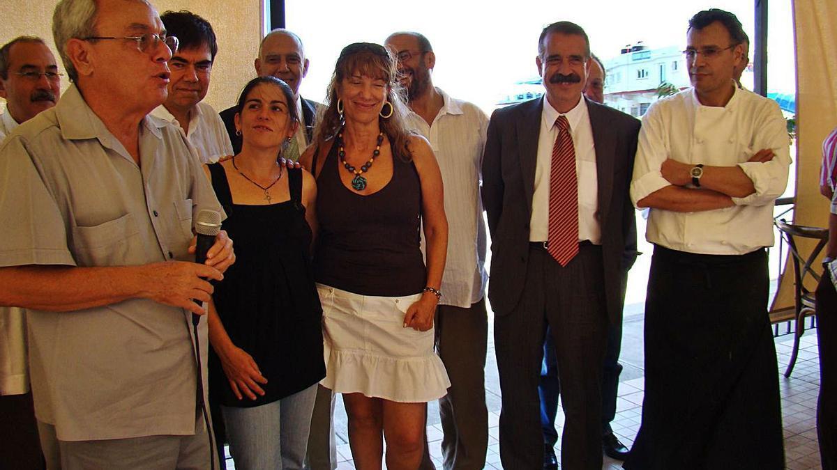 Eusebio Leal, durante una de sus intervenciones en la Casa de Zamora en La Habana. | Cedida