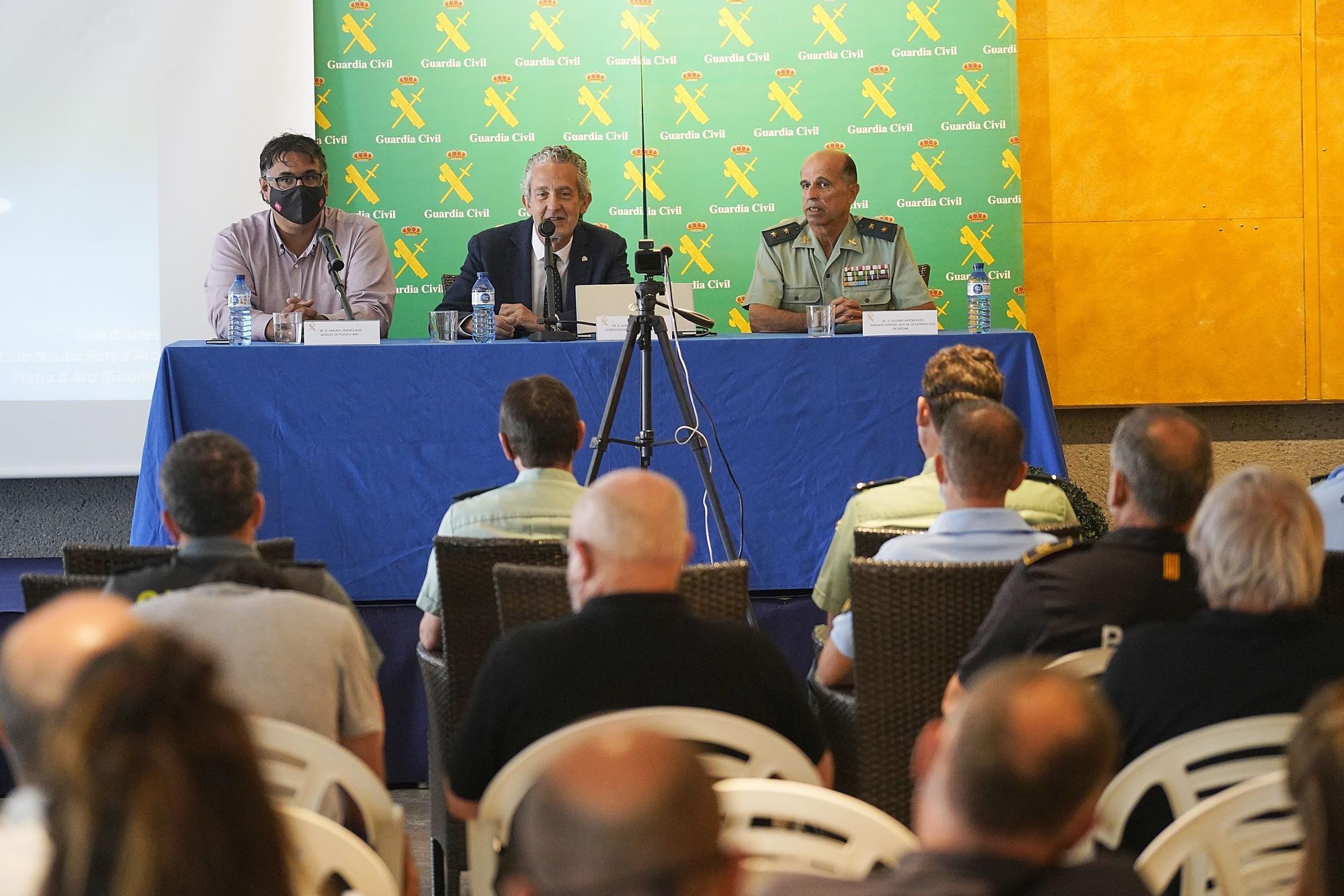 Jornada de la Guàrdia Civil sobre el medi marítim i les actuacions del cos policial