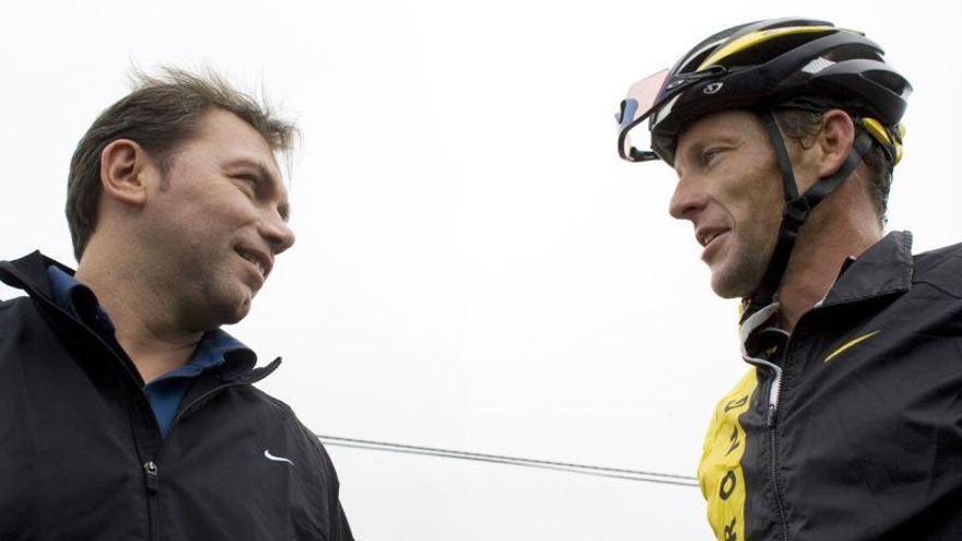 Bruyneel, extécnico de Armstrong, suspendido de por vida