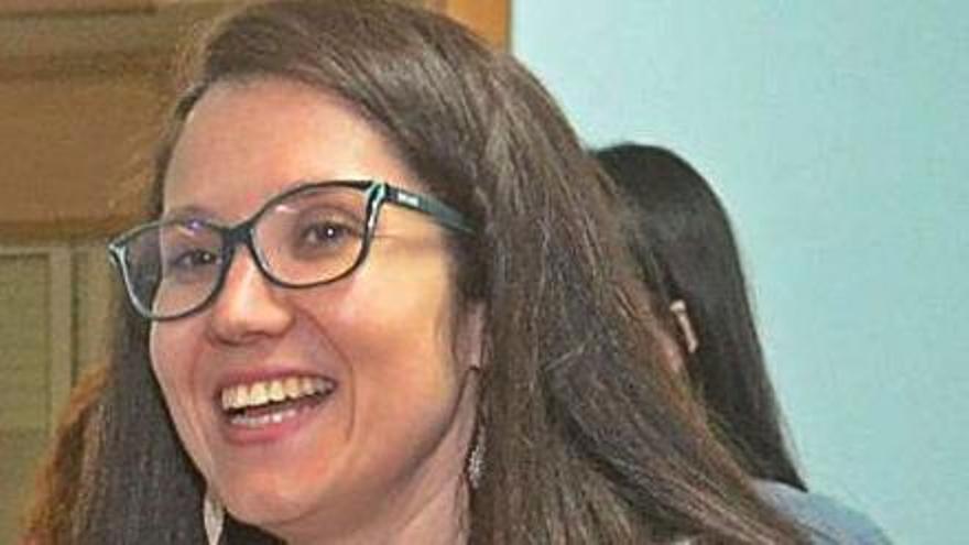 Lucía César Veloso, portavoz del BNG de Vilagarcía.