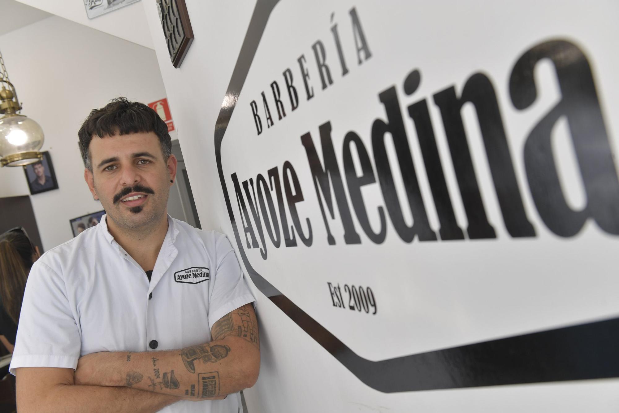 Ayoze Medina, subcampeón internacional de peluquería