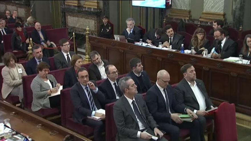 """Los acusados, contra el juicio """"político"""""""