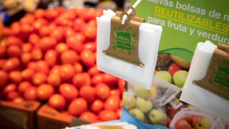 Lidl implementa la bolsa de malla para fruta y verdura para fomentar la reutilización