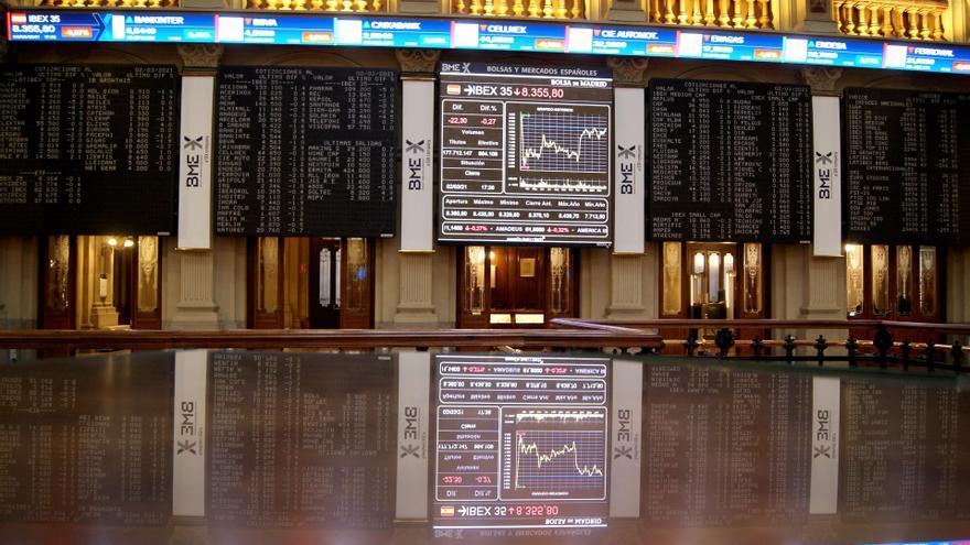 El Ibex 35 sube un 0,54% y reconquista los 8.400 puntos