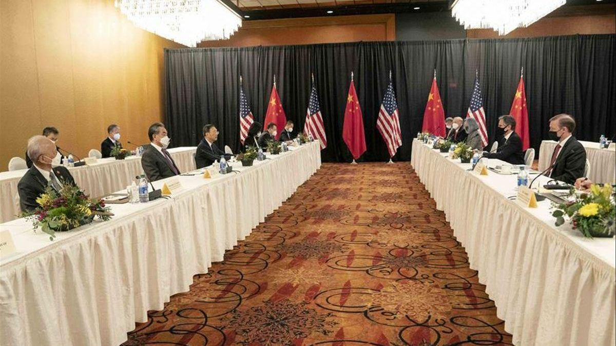 Washington y Pekín constatan sus divergencias en una tensa cumbre en Alaska