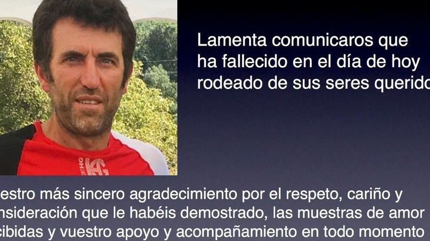 Muere a los 53 años el atleta Alejandro Gómez