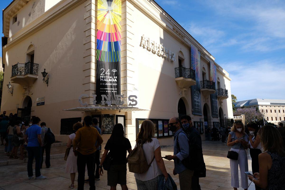 Presentación de 'Lucía en la telaraña', en el Festival de Cine de Málaga