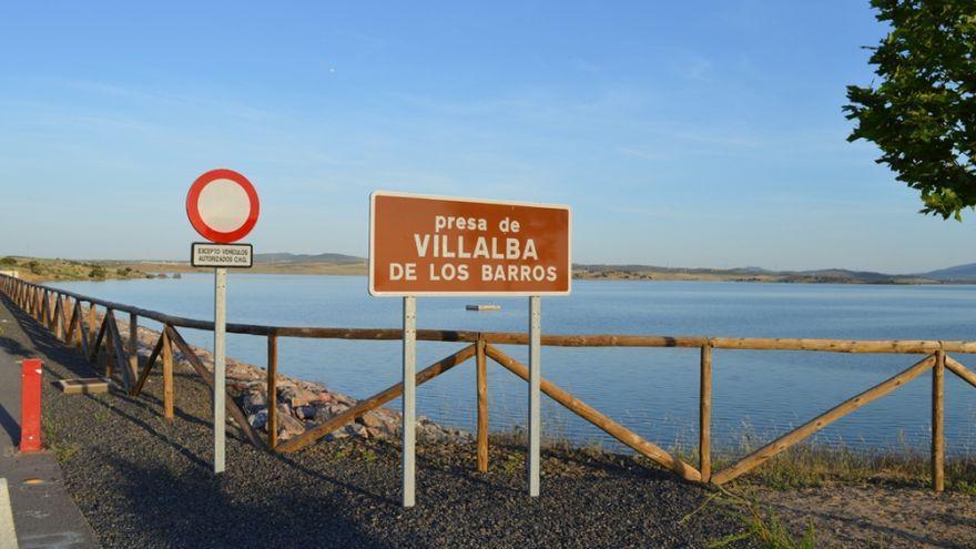 Muere ahogado un hombre de 45 años en la presa de Villalba de los Barros, en Badajoz