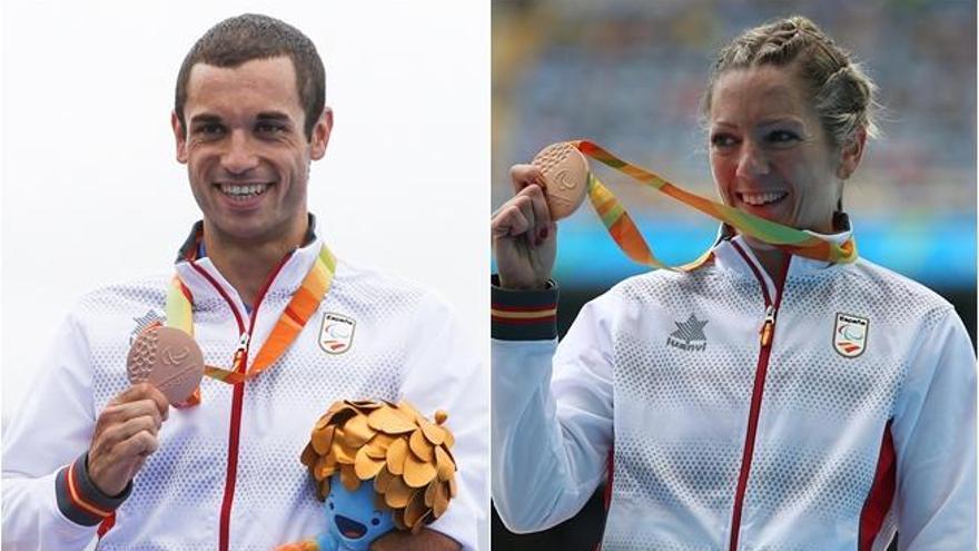 Izaskun Oses y Jairo Ruiz logran el bronce en los Juegos Paralímpicos