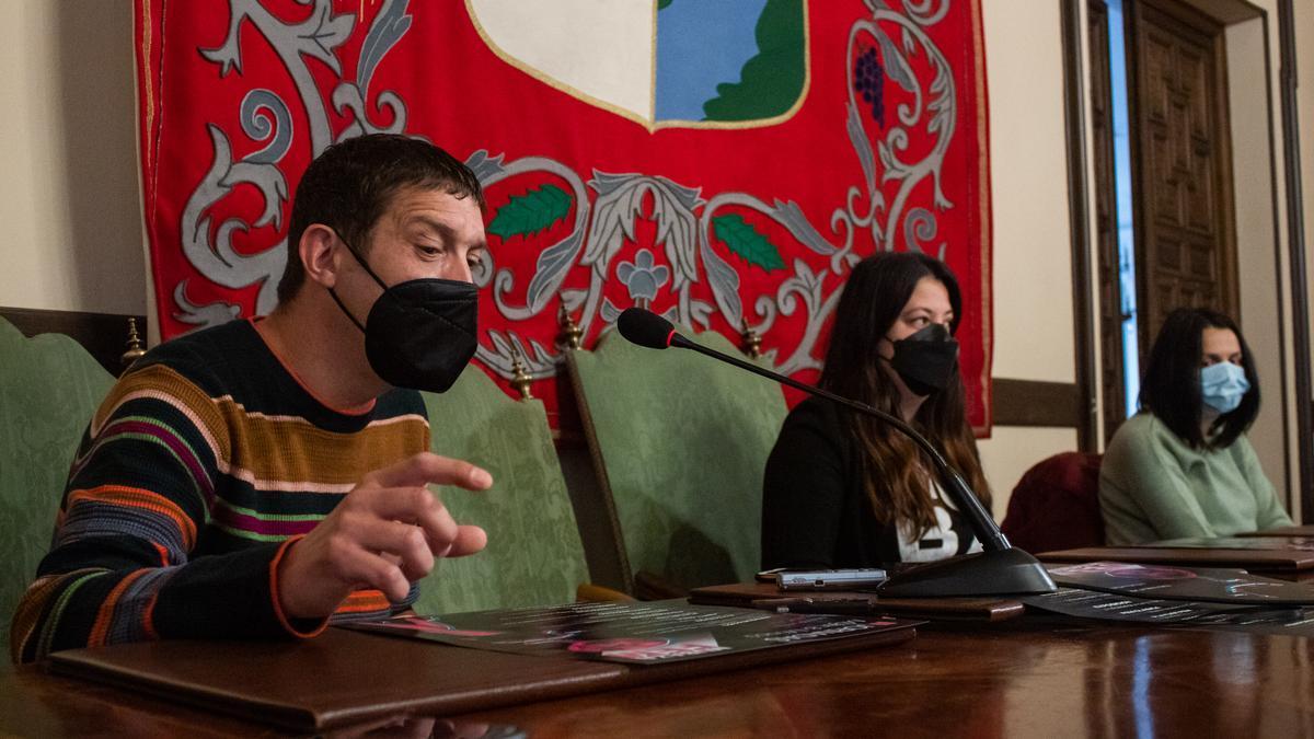 Rueda de prensa en el Ayuntamiento de Zamora para presentar el festival.
