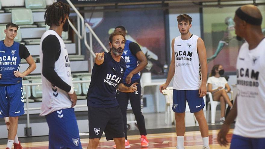 El UCAM Murcia del trienio