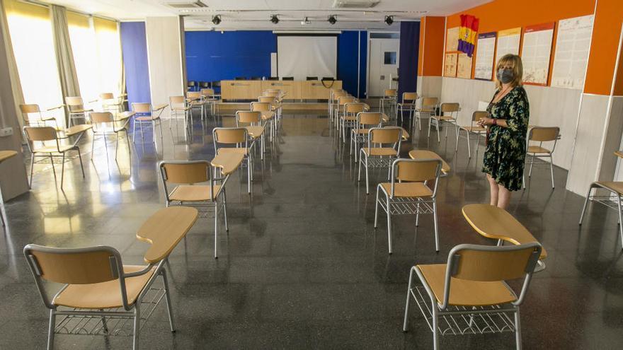 Selectividad 2020: 800 profesores vigilarán los exámenes en los institutos de la provincia de Alicante