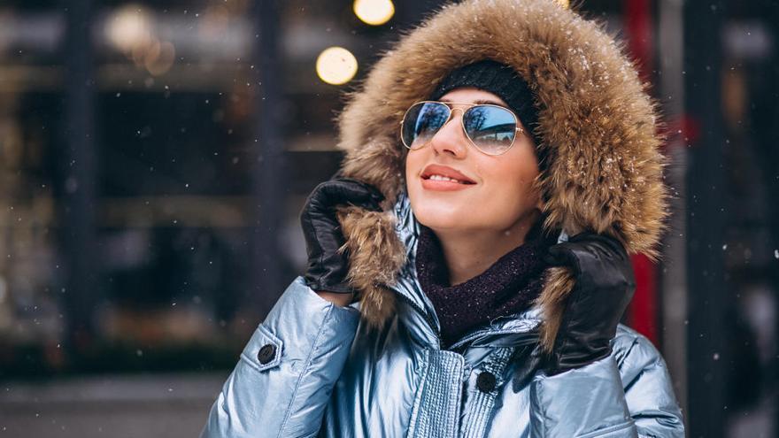Las gafas de sol también son para el invierno