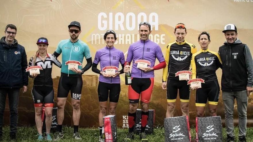 El Surià Bicis acaba en el podi a la Girona MTB Challenge