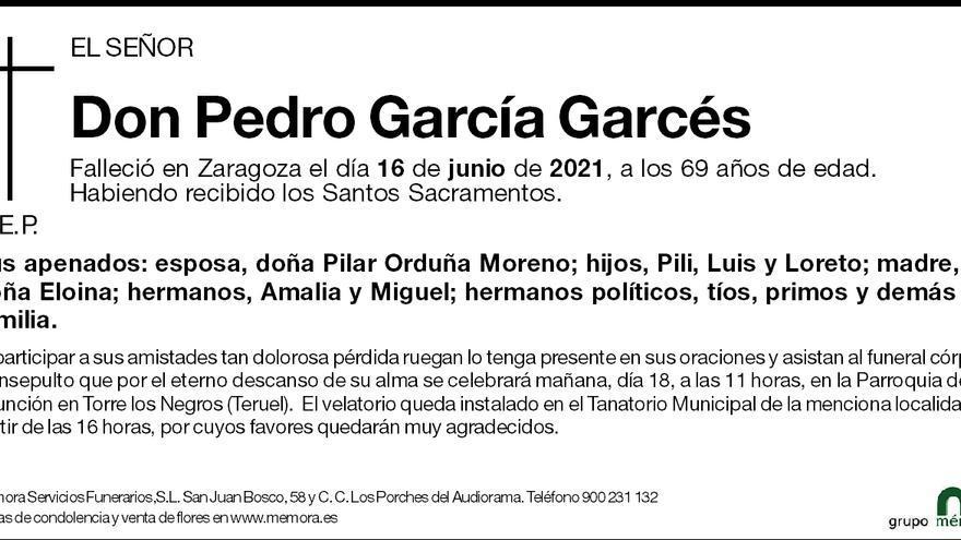 Pedro García Garcés