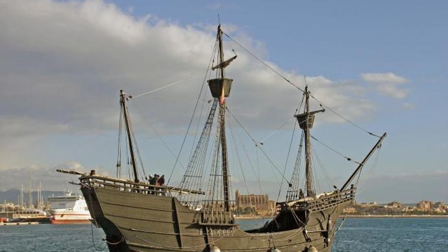 Nachbau des Magallanes-Schiffs kommt nach Mallorca