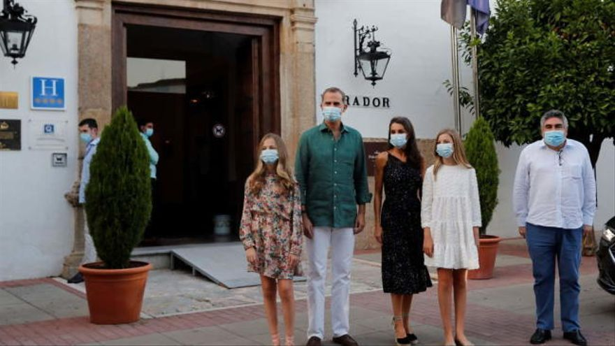 Los Reyes visitan Extremadura