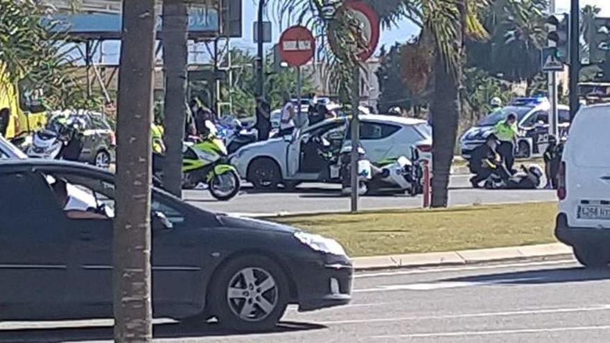 Detenido por desear en Facebook la muerte de dos policías de Murcia que sufrieron un accidente