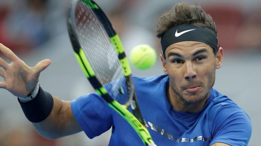 Nadal, a semifinales en Pekín tras vencer al cañonero Isner