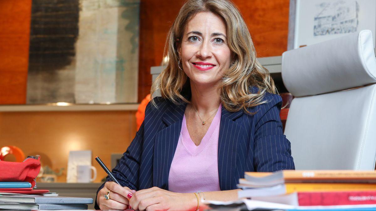Raquel Sánchez, la ya exalcaldesa de Gavà, que se convertirá este lunes en ministra de Transportes.