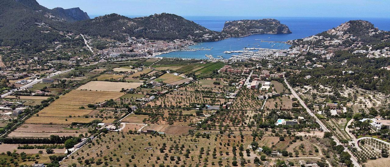 Parte de estos terrenos en el puerto de Andratx pertenecen ahora a la familia Schumacher y en ellos construirán cuadras y practicarán equitación.