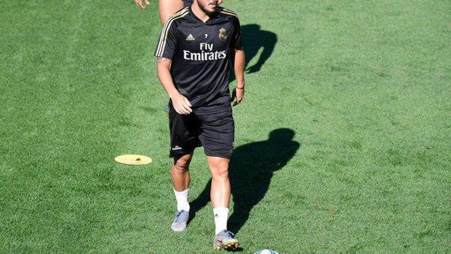 El Madrid, sin Hazard a Balaídos