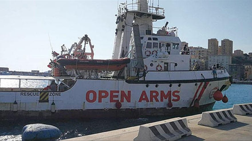 """Italia inmoviliza el Open Arms al apreciar """"anomalías graves"""""""