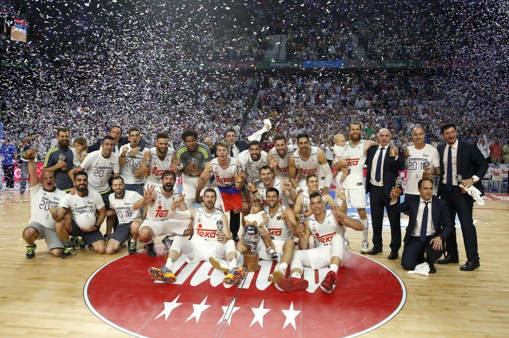 El Real Madrid, campeón de la Liga Endesa