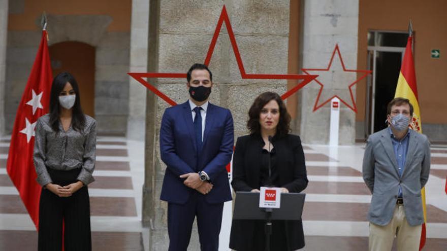 """Ayuso defendido el """"éxito"""" de las medidas """"sensatas"""" adoptadas por la Consejería de Salud madrileña"""