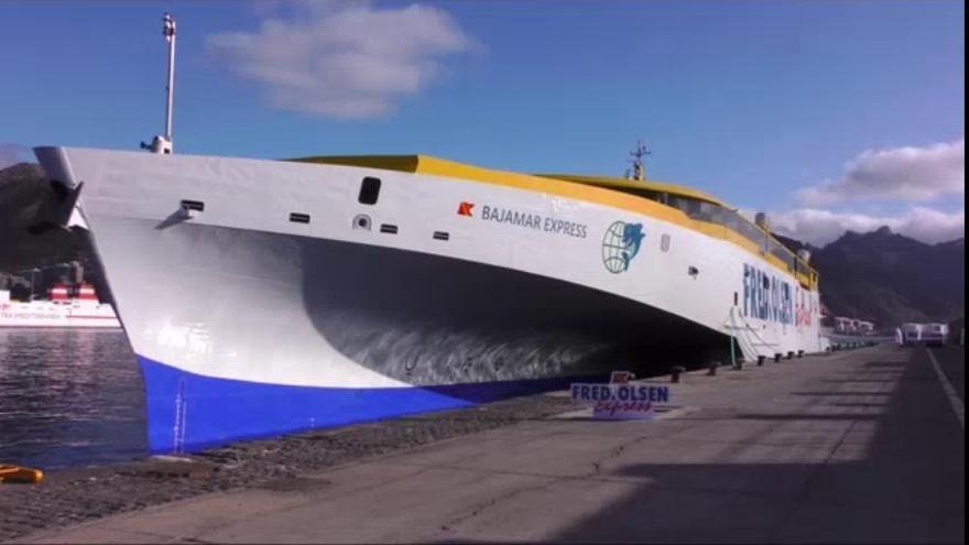 Fred. Olsen cubrirá la ruta entre Tenerife y Gran Canaria con el trimarán más moderno y rápido del mundo