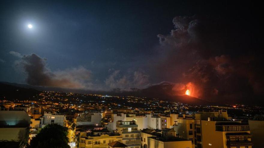 Sexto día de erupción en La Palma
