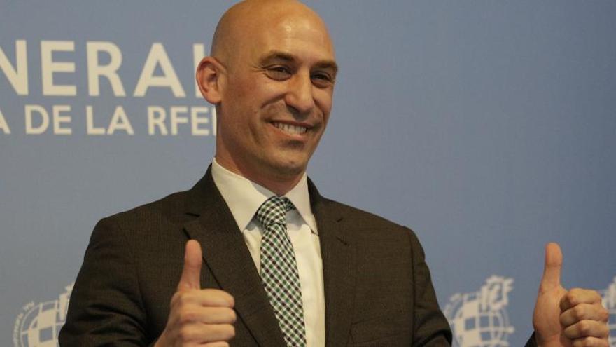 Luis Rubiales, nou president de la RFEF