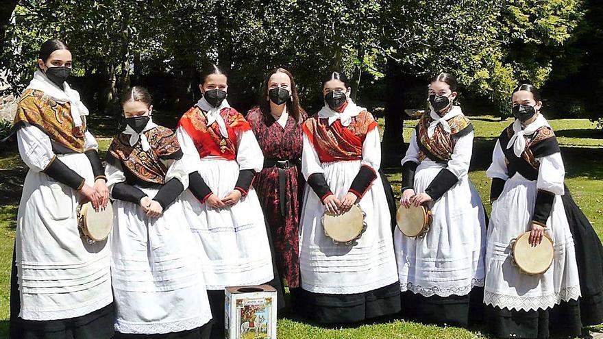 Santaia, tercero en el Concurso de Canto e Percusión Ultreia