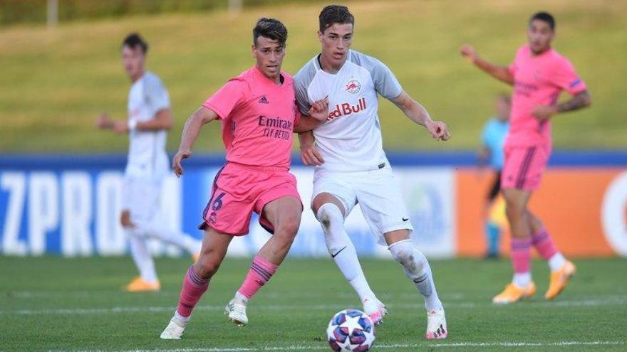 El cordobés Antonio Blanco participa de la goleada del Real Madrid al Getafe