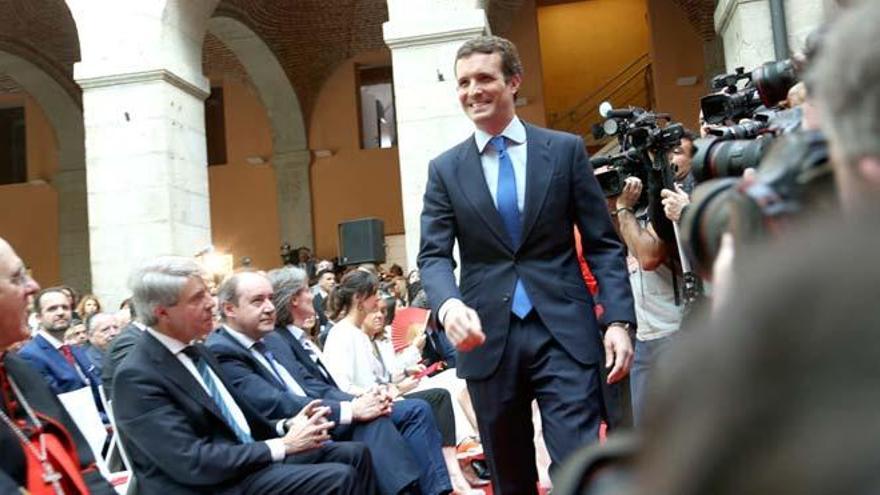Casado y Aguirre achacan a la etapa de Rajoy la debacle electoral del PP