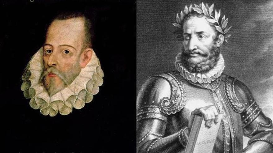 Cervantes y Camões, dos vidas paralelas