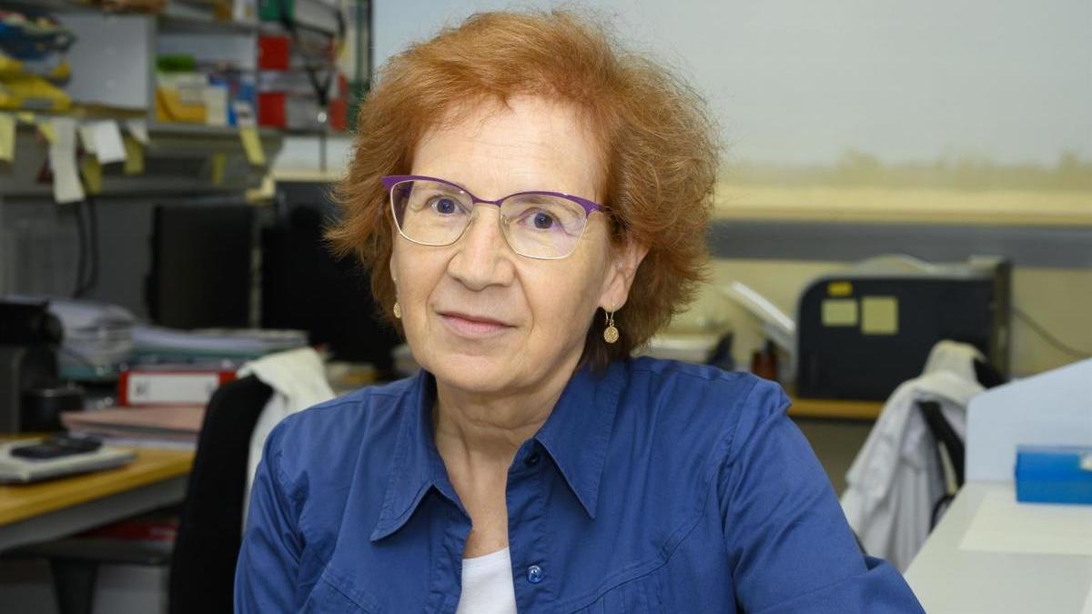 La viróloga del CSIC Margarita del Val.