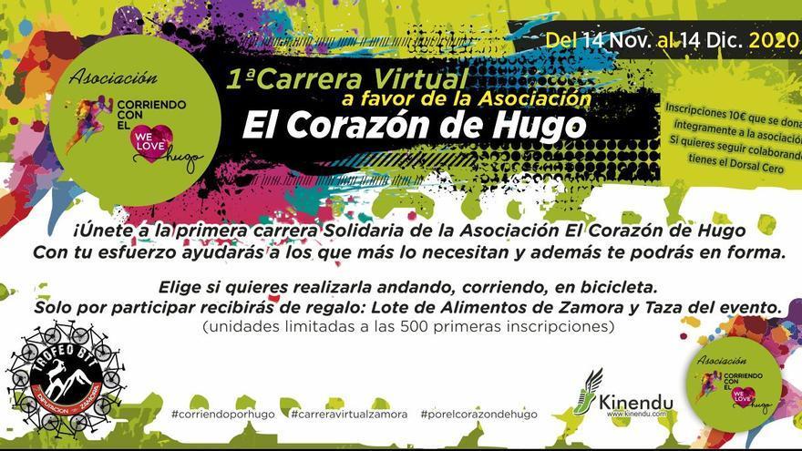 Abiertas las inscripciones para la I Carrera Virtual Trofeo BTT Diputación de Zamora