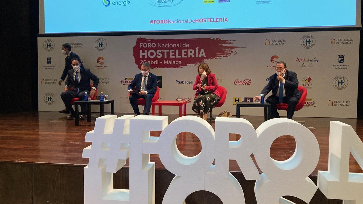 Inauguración de las jornadas de hostelería en el Palacio de Ferias y Congresos de Málaga