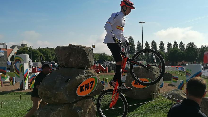 Dani Cegarra, doble campeón del mundo de trial bici