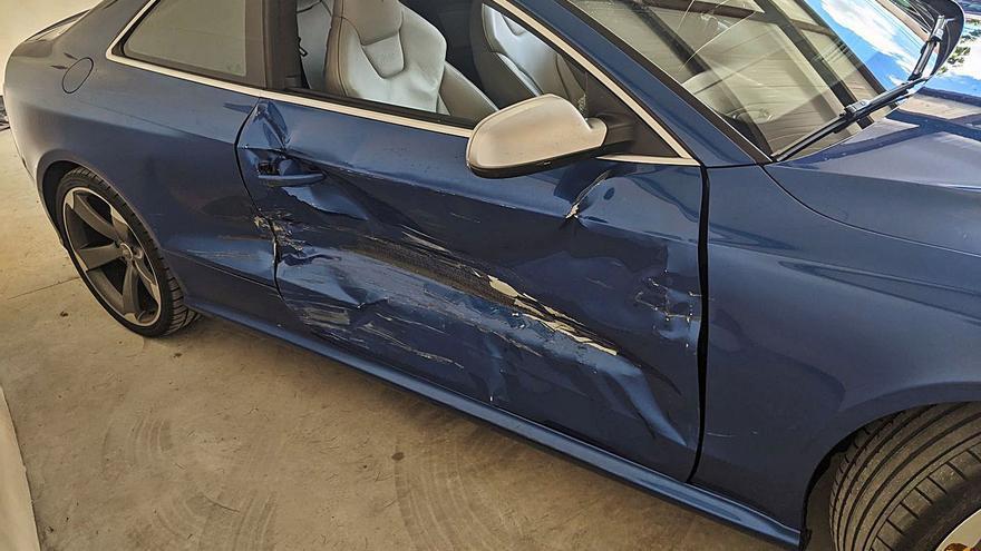 Los guardias civiles ocultaron los tiros al coche hasta que el conductor los denunció